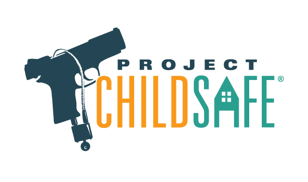 The navy, teal, and orange Project ChildSafe logo