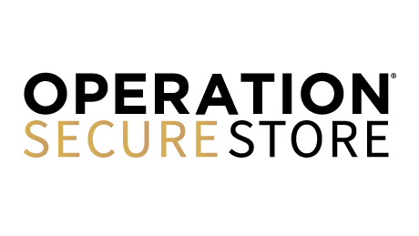 The black and gold Operation Secure Store logo